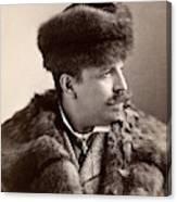 Men's Fashion, 1890s Canvas Print