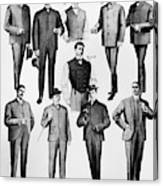 Men's Fashion, 1902 Canvas Print