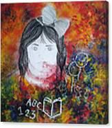 Merah Canvas Print