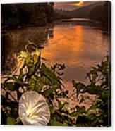 Meramec River At Chouteau Claim Canvas Print