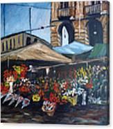 Mercato Porta Palazzo Canvas Print