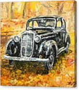 Mercedes 170 S Canvas Print