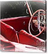 Mercedes Benz 190 Sl Canvas Print