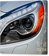 Mercedes Benz Light Canvas Print