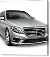 Mercedes-benz S550 4matic Luxury Car Canvas Print