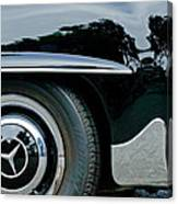 Mercedes-benz Wheel Emblem Canvas Print