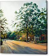 Merchants Square In The Late Afternoon Canvas Print