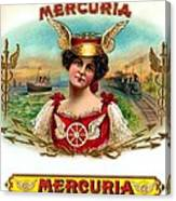 Mercuria Canvas Print