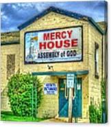 Mercy? Canvas Print