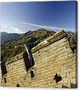 Merlon View At The Great Wall 1046 Canvas Print