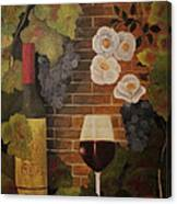Merlot For The Love Of Wine Canvas Print
