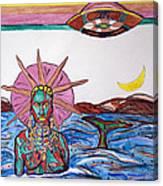 Yemoja Ufo  Canvas Print