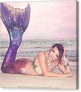 Mermaid Harmony Canvas Print