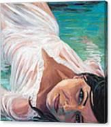 Mermaid Helen Canvas Print
