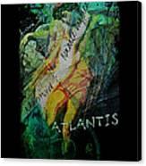 Mermaid Love Spell Canvas Print
