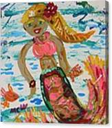 Mermaid Mermaid Canvas Print