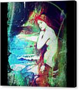 Mermaid Of The Tides Canvas Print