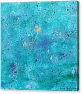 Mermaid Slumber Canvas Print