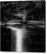 Merrill Walk Bridge Canvas Print