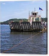 Merrimac Ferry - Wisconin Canvas Print