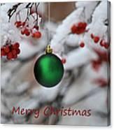 Merry Christmas 4 Canvas Print