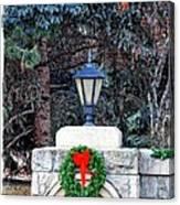 Merry Christmas From Boise Idaho Canvas Print