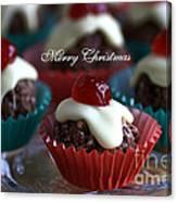 Merry Christmas - Puddings Canvas Print