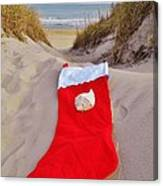 Merry Christmas Stocking 2 12/23 Canvas Print