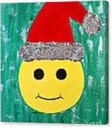 Merry Face Canvas Print