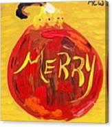 Merry Canvas Print