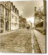 Merton Street Oxford Canvas Print
