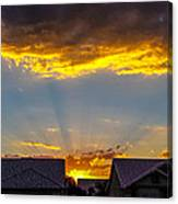 Mesa Sunset Canvas Print