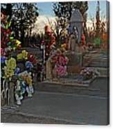 Mesilla Nm Cemetery 14  Canvas Print