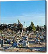 Mesilla Nm Cemetery 3   Canvas Print