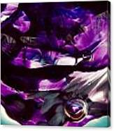 Mesmerize Purple II Canvas Print