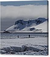 Mesmerizing Antarctica... Canvas Print