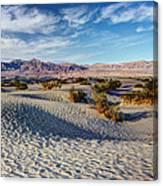 Mesquite Flat Dunes Canvas Print
