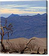 Mesquite Flat Sand Dunes Stovepipe Wells Death Valley Canvas Print