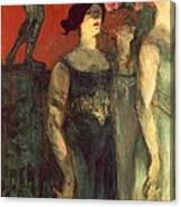 Messalina Canvas Print