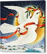 Messenger Of Peace Canvas Print