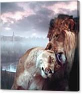 Yeshua Loves Israel Canvas Print