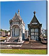 Metairie Cemetery 4 Canvas Print