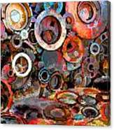 Metal Chair Canvas Print