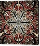 Metal Flower Canvas Print