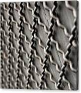 Metal Texture Forms Canvas Print