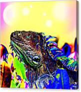 Metallic Dragon Canvas Print