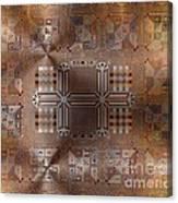 Metallic Pattern Canvas Print