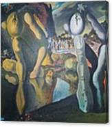 Metamophosis Of Narcissus Canvas Print
