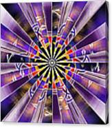 Metatron Storm Canvas Print