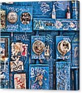 Meter Graffiti New Orleans Style Canvas Print
